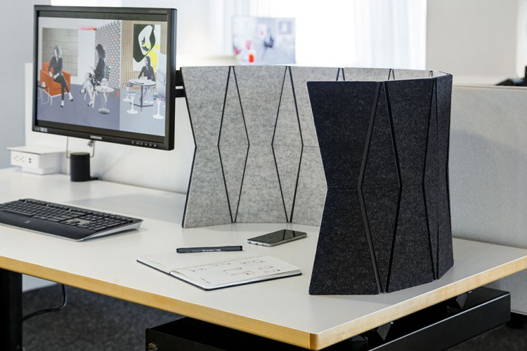 Stake Your Claim With Acoustic Desktop Screens