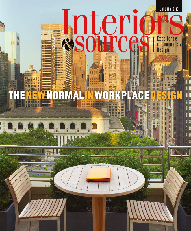 Interiors and Sources, Jan 2013