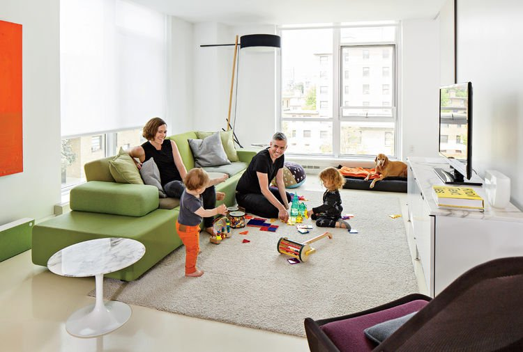 The Home Of Kelly Smith, FilzFeltu0027s Co Founder, Appears In The October  Issue Of Dwell. Renovated To Accommodate A Young Family, Her Home In The  South End Of ...