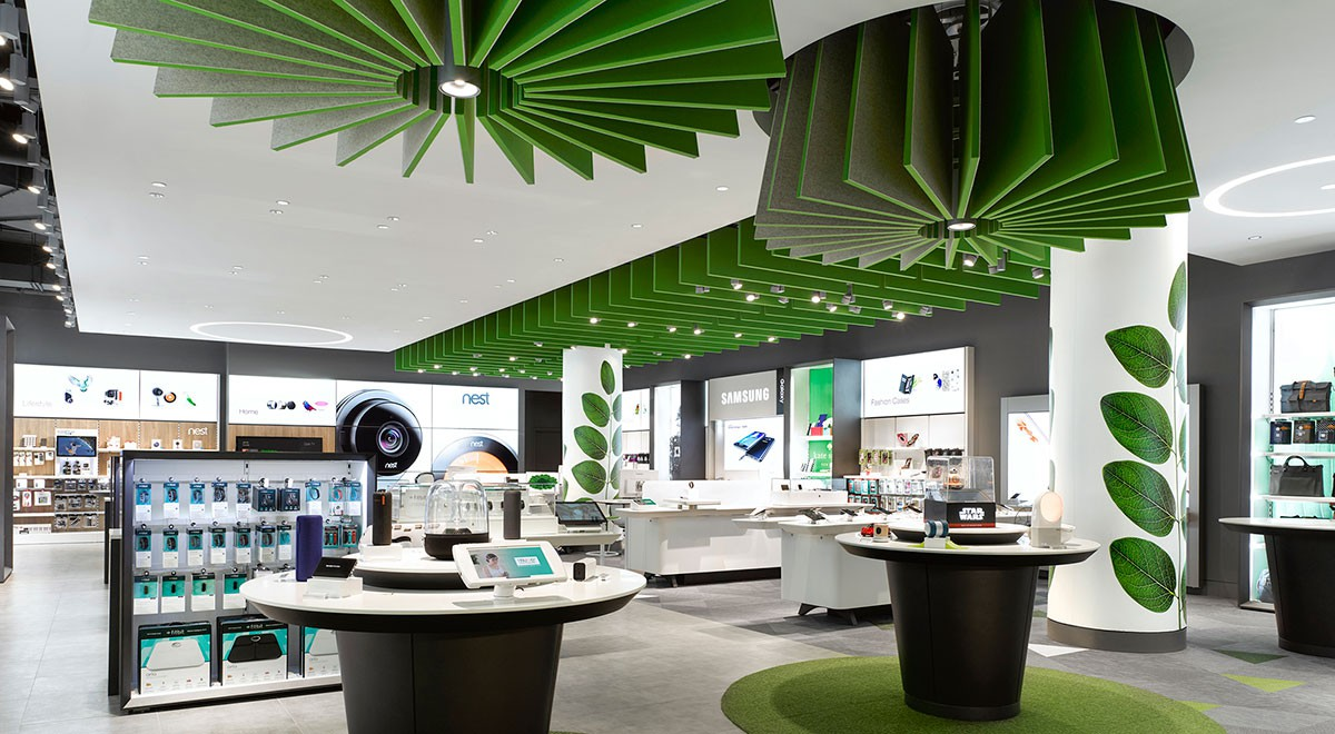 Telus Concept Store at Eaton Centre